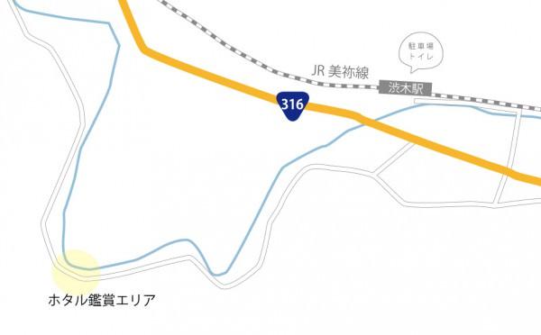 ホタルマップ_渋木ホタル橋