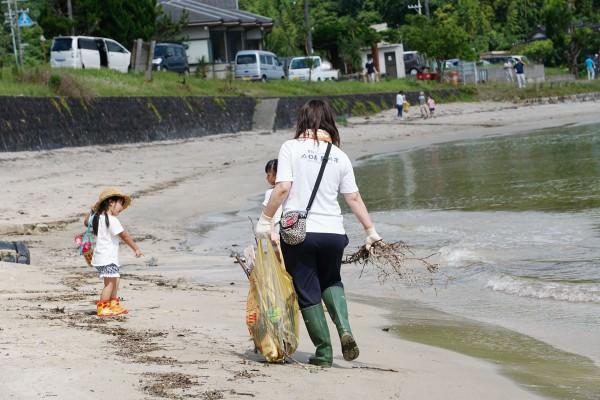 20170702_海岸清掃_只の浜海水浴場