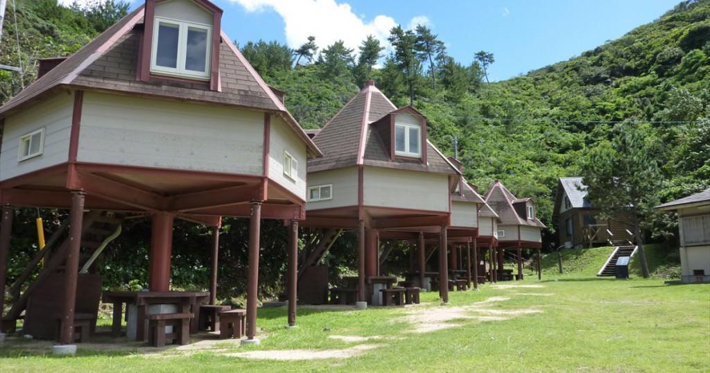 台風18号の接近に伴う9/16・17の青海島キャンプ村営業について